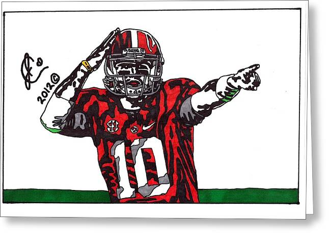 Aj Mccarron 1 Greeting Card by Jeremiah Colley