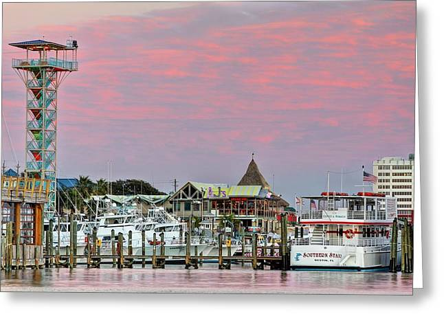 Ajs In Destin Greeting Card by JC Findley