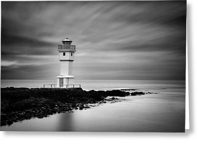 Akranes Lighthouse Greeting Card