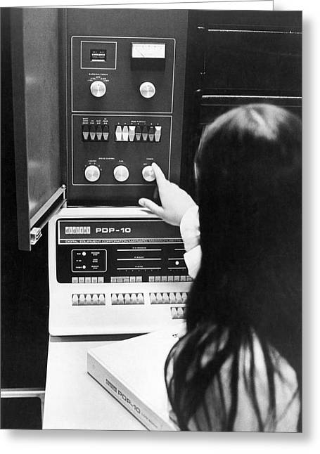 Al-10 Computer System Greeting Card