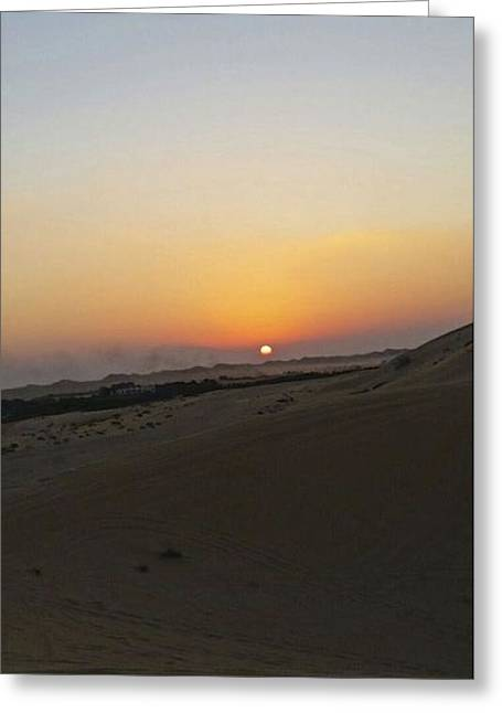 Al Ain Desert 20 Greeting Card