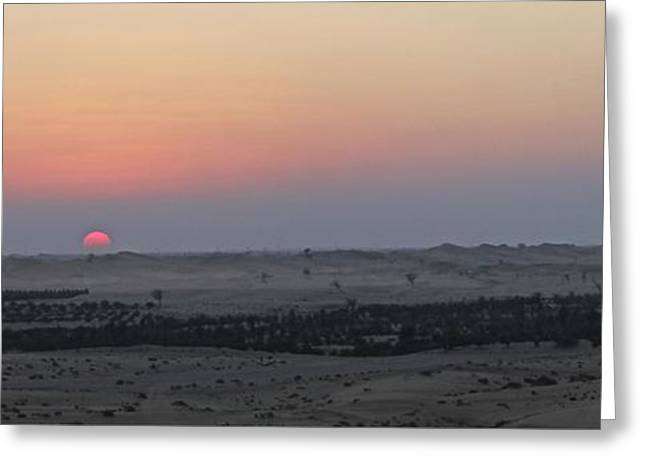 Al Ain Desert 7 Greeting Card