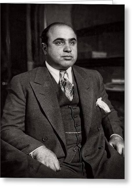 Al Capone - Scarface Greeting Card