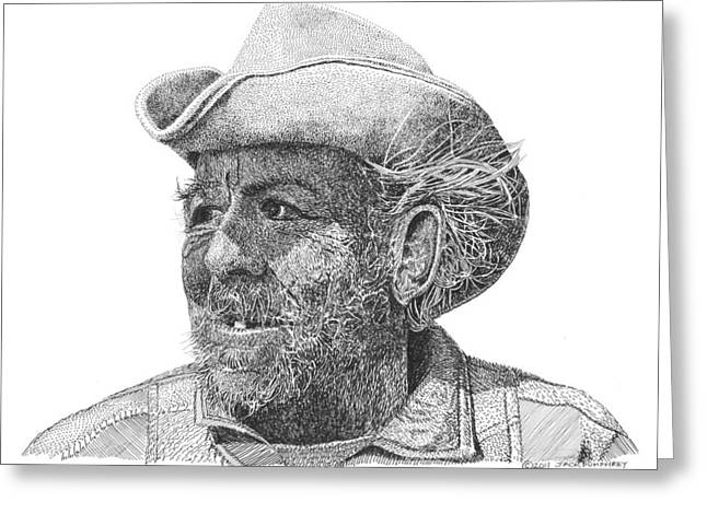 Cowboy Al Holman  Greeting Card