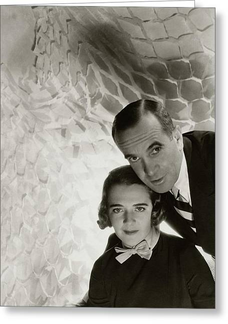 Al Jolson And Ruby Keeler Greeting Card by Cecil Beaton