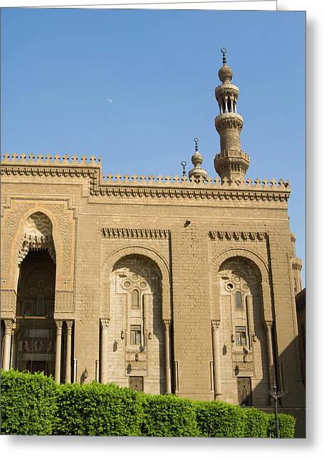 Al Refai Mosque, Cairo, Egypt, North Greeting Card by Nico Tondini