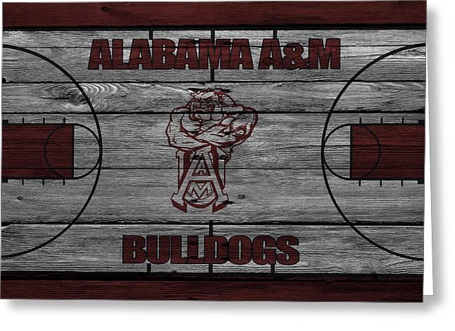 Alabama A M Bulldogs Greeting Card