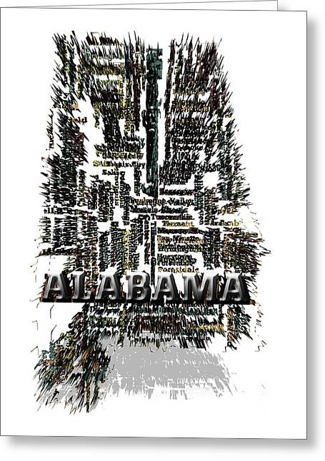 Alabama Greeting Card by Brian Reaves
