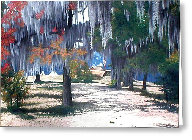 Alabama Fort Jackson Greeting Card by Beth Parrish