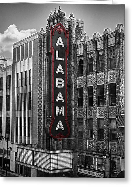 Alabama Theater Greeting Card