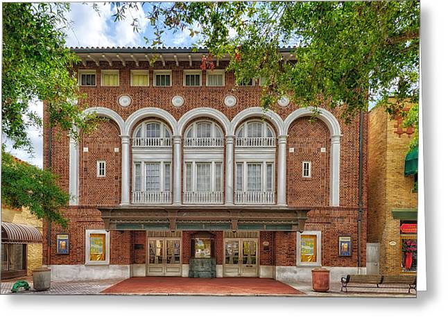 Aladdin Theater - Cocoa Florida Greeting Card