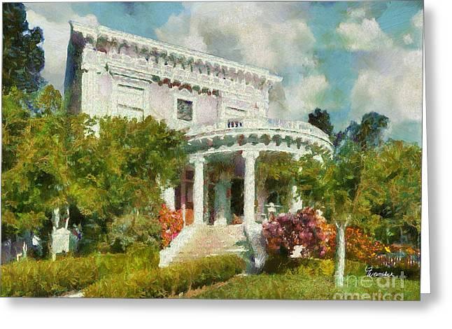 Alameda 1896-97 Colonial Revival Greeting Card