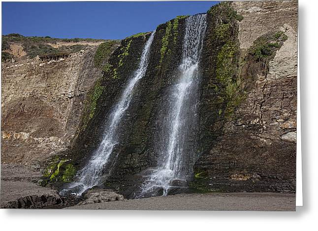 Alamere Falls Three Greeting Card by Garry Gay