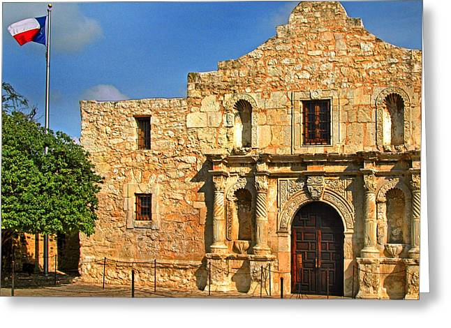 Alamo 0002 Greeting Card
