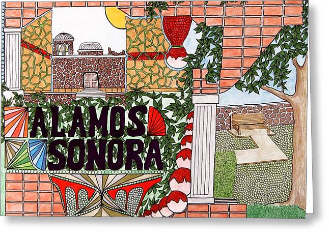 Alamos Greeting Card