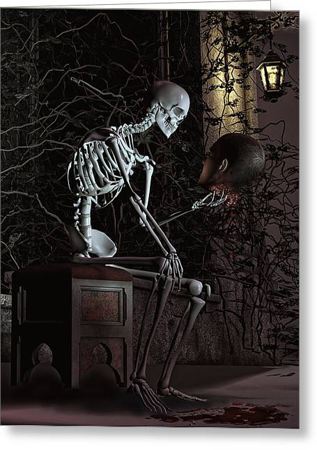 Alas Poor Yorick Greeting Card