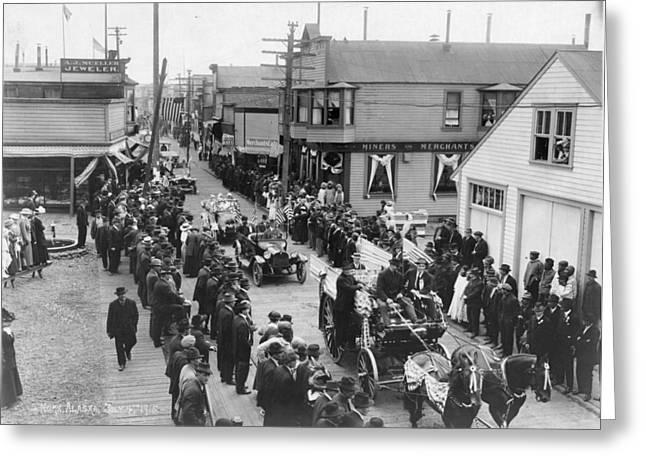 Alaska 4th Of July, 1915 Greeting Card