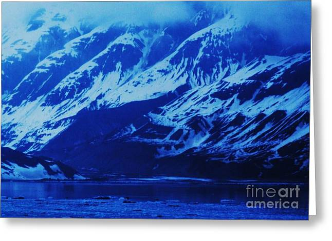 Alaska Blue Greeting Card by Marcus Dagan
