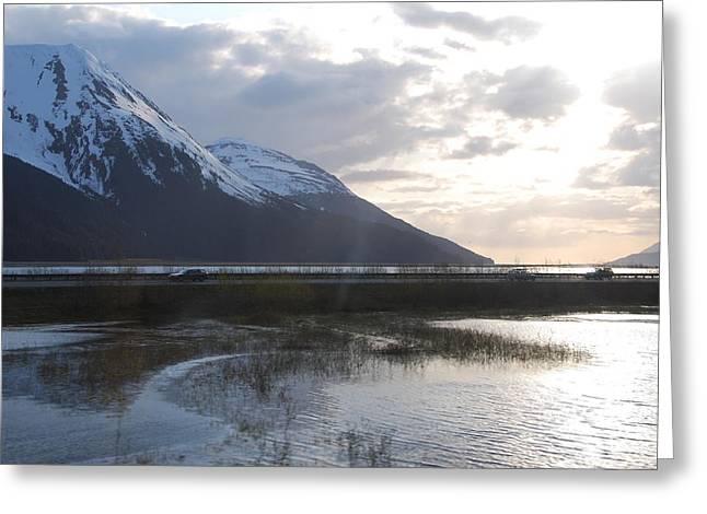 Alaska Highway Greeting Card