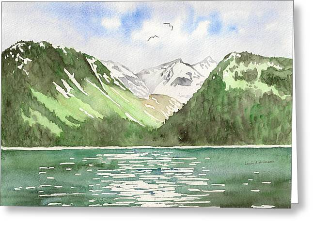 Alaska Kenai Fjords Greeting Card