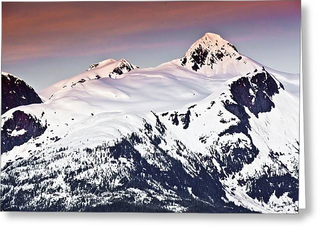 Alaska Landscape Greeting Card