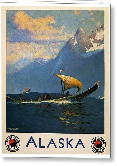 Alaska Greeting Card