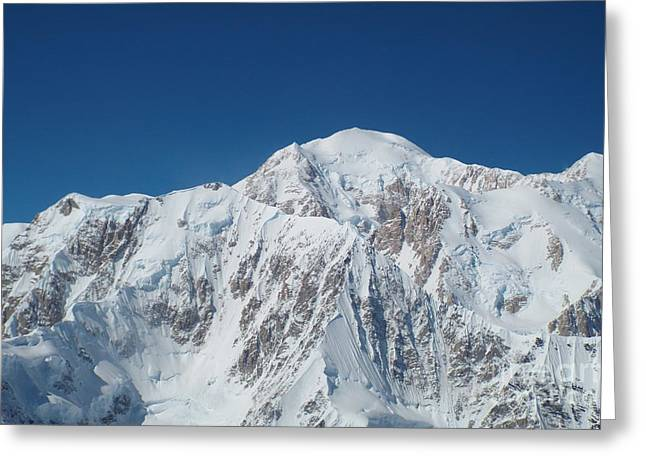 Alaska Peak Greeting Card