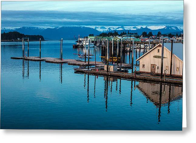 Alaska Seaplanes Greeting Card by Mike Reid