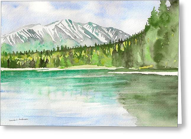 Alaska View Greeting Card
