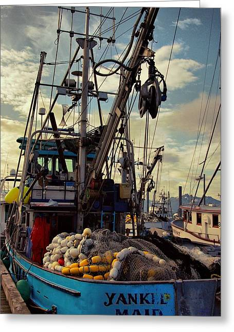 Alaska Yankee Maid Trawler Greeting Card