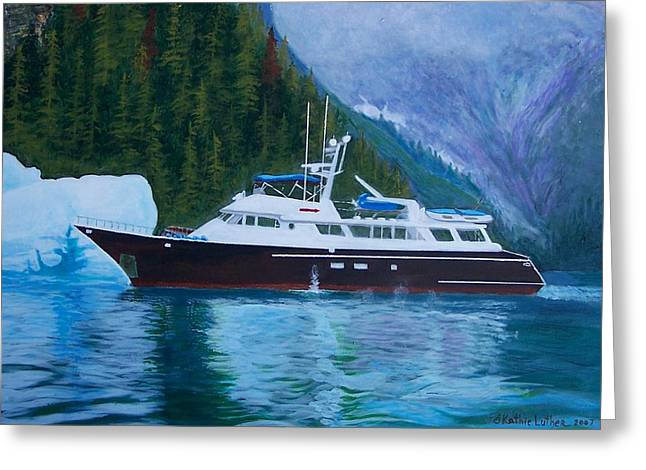 Alaskan Cruise Greeting Card
