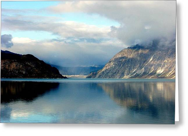 Alaskan Splendor Greeting Card by Karen Wiles