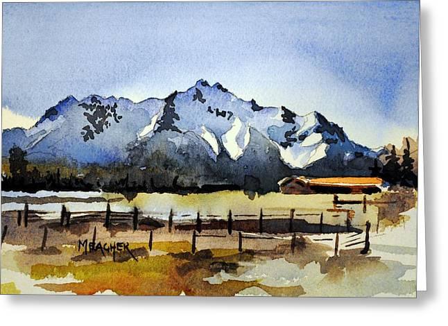 Alaskan Springtime Greeting Card by Spencer Meagher