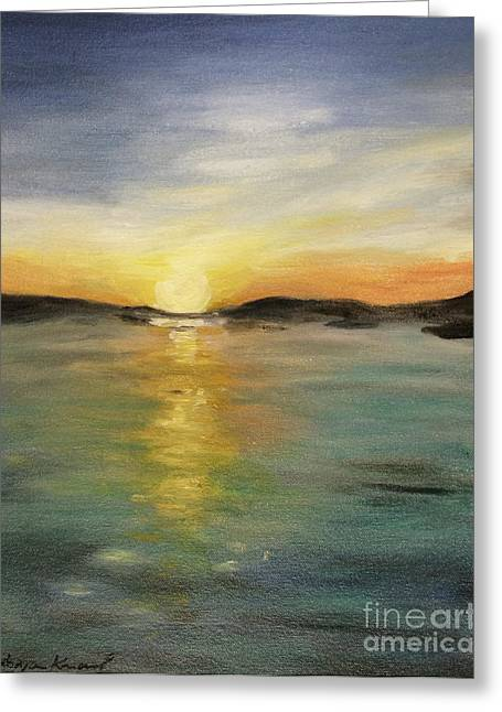 Alaskan Sunrise Greeting Card