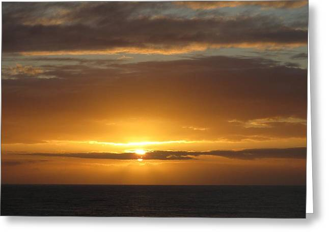 Greeting Card featuring the photograph Alaskan Sunset by Jennifer Wheatley Wolf