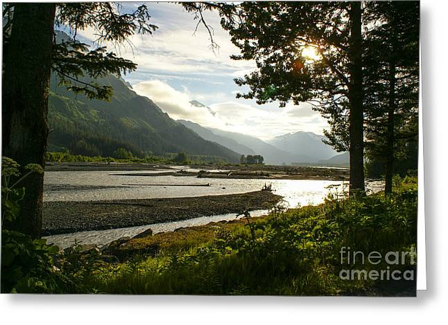 Alaskan Valley Greeting Card