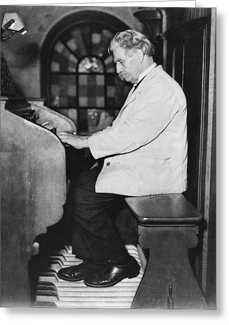 Albert Schweitzer Recital Greeting Card