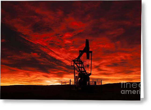 Alberta Sunrise Greeting Card