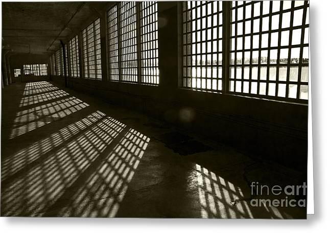 Alcatraz 4 Greeting Card by Micah May