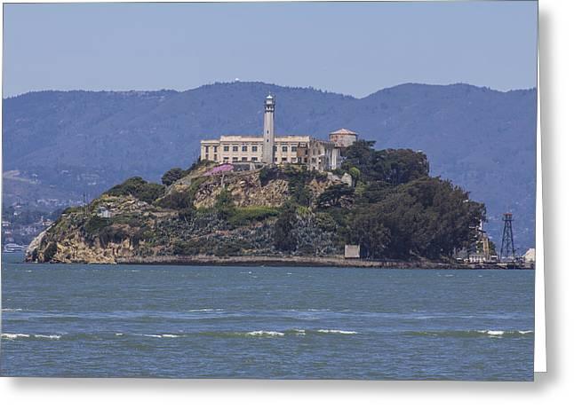 Alcatraz Island Greeting Card by John McGraw