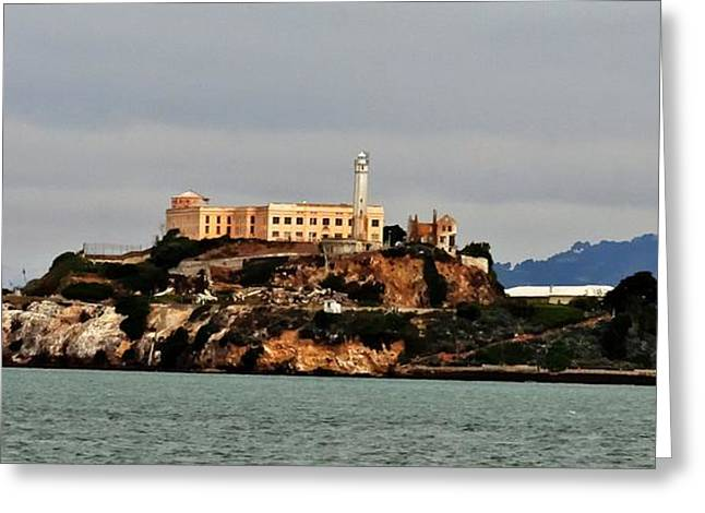 Alcatraz Island - The Rock Greeting Card