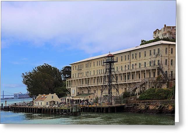 Alcatraz  Building 64 Greeting Card by Viktor Savchenko