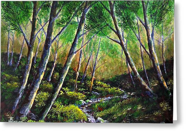 Alder Creek Greeting Card