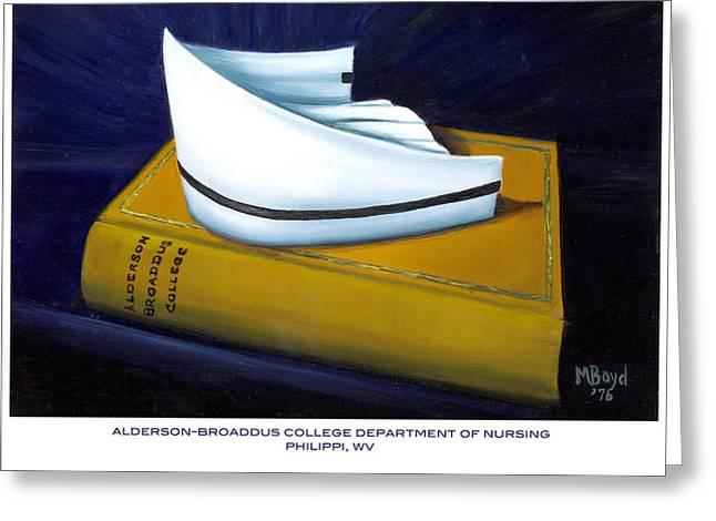 Alderson-broaddus College Greeting Card by Marlyn Boyd