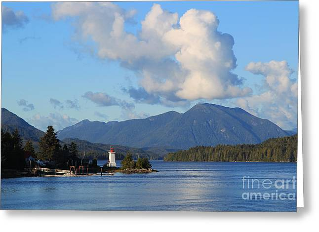 Alert Bay Alaska Greeting Card
