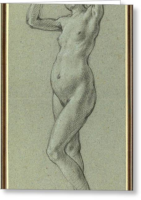Alessandro Casolani, Italian 1552-1606 Greeting Card by Litz Collection