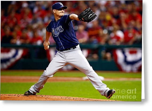 Alex Cobb #53 Greeting Card