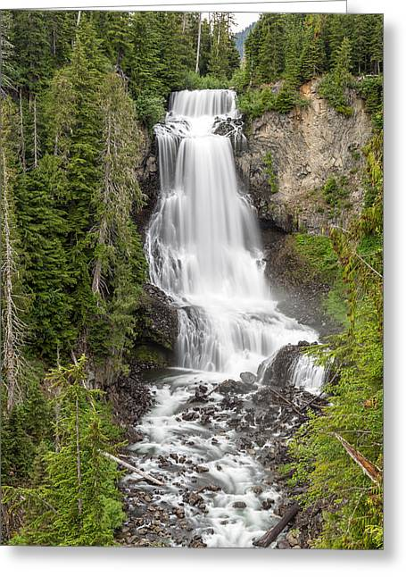 Alexander Falls Whistler Greeting Card by Pierre Leclerc Photography