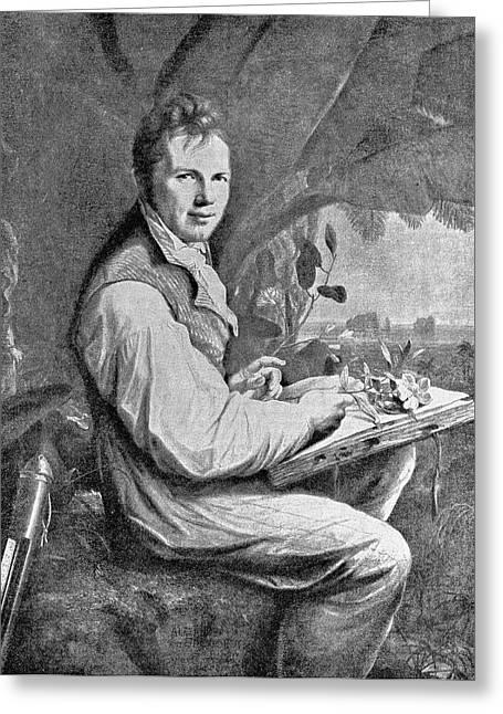 Alexander Von Humboldt Greeting Card