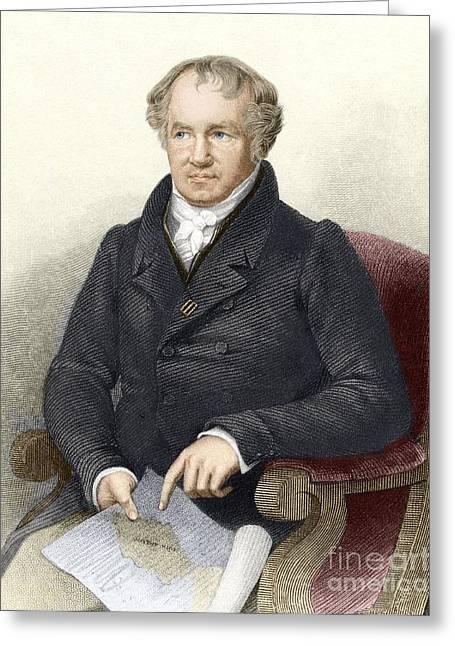 Alexander Von Humboldt, German Greeting Card